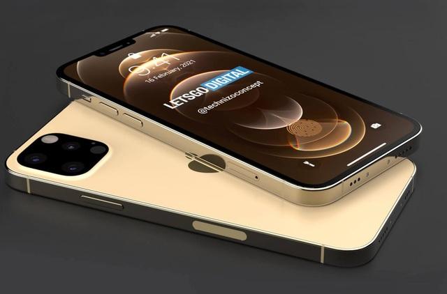 Video và ảnh bản dựng 3D hoàn chỉnh phiên bản iPhone 13 - 2