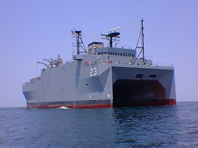 Tàu thăm dò Mỹ áp sát Hoàng Sa - 1