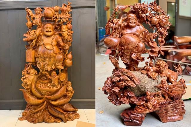 Tượng gỗ Trung Kiên - Giữ nguyên giá trị trong từng sản phẩm - 4