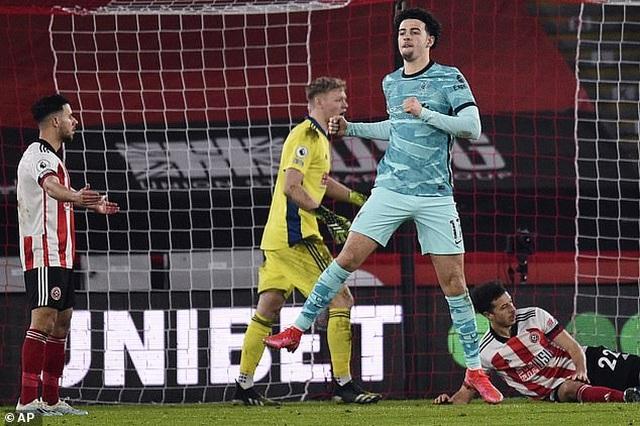 Sao trẻ Liverpool có hành động đẹp sau khi giúp đội nhà giành chiến thắng - 1