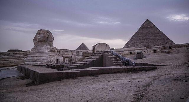 Bí ẩn cổng thiên đường liên quan đến các kim tự tháp Ai Cập cổ đại - 1