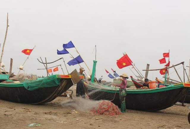 Đầu xuân, ngư dân Nam Định ra khơi nhưng thu nhập giảm - 1