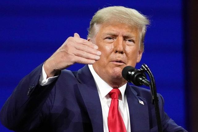 Ông Trump lần đầu tái xuất hậu Nhà Trắng, tuyên bố sẽ chiến thắng - 2