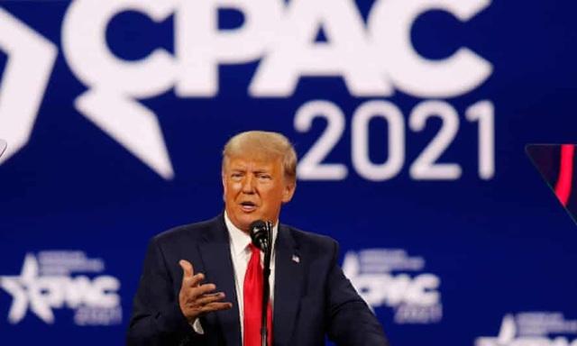 Ông Trump lần đầu tái xuất hậu Nhà Trắng, tuyên bố sẽ chiến thắng - 1