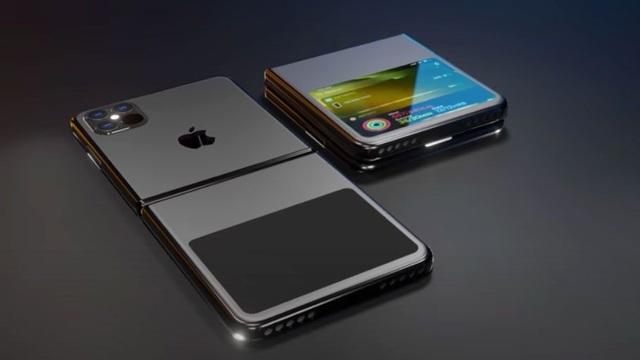 Hình mẫu iPhone tương lai: Màn hình gập, không cổng sạc - 2