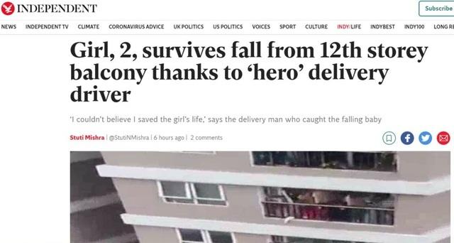 Xuất hiện clip khác vụ cứu cháu bé: Đừng lo Mạnh bị giảm bớt độ anh hùng - 2