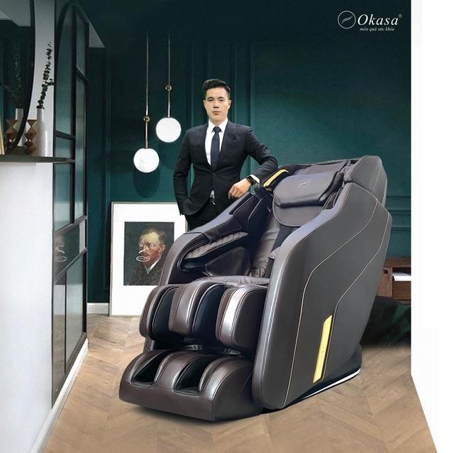 Ghế massage cao cấp Okasa - Giải pháp sức khỏe cho người yêu công nghệ - 1