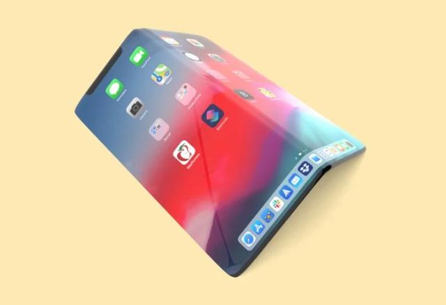 Hình mẫu iPhone tương lai: Màn hình gập, không cổng sạc - 1