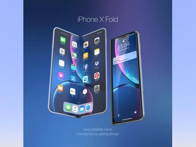 Hình mẫu iPhone tương lai: Màn hình gập, không cổng sạc - 3