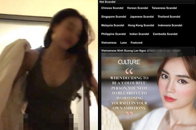 Trước Ninh Dương Lan Ngọc, loạt sao nữ sốc vì nghi vấn có clip nóng