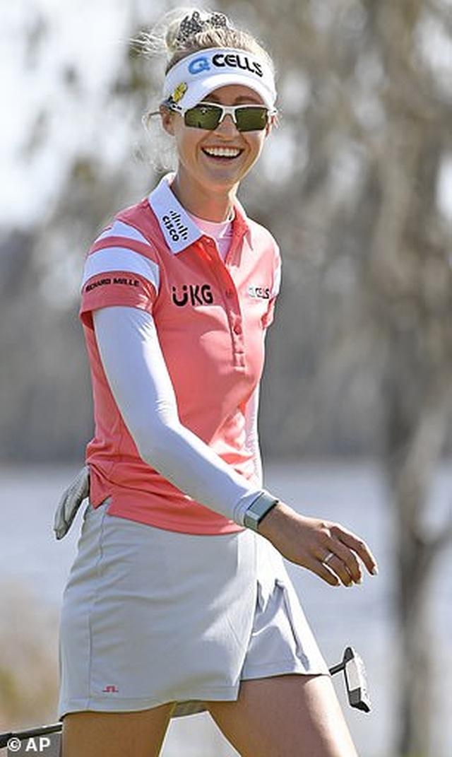 Vẻ đẹp hút hồn của nữ golf thủ 16 tuổi vừa đoạt Cúp Gainbridge LPGA - 4