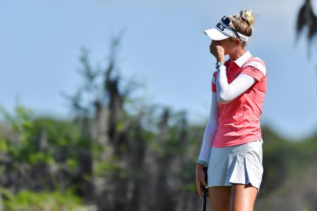Vẻ đẹp hút hồn của nữ golf thủ 16 tuổi vừa đoạt Cúp Gainbridge LPGA - 9