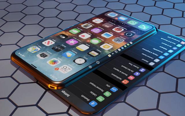 Hình mẫu iPhone tương lai: Màn hình gập, không cổng sạc - 4