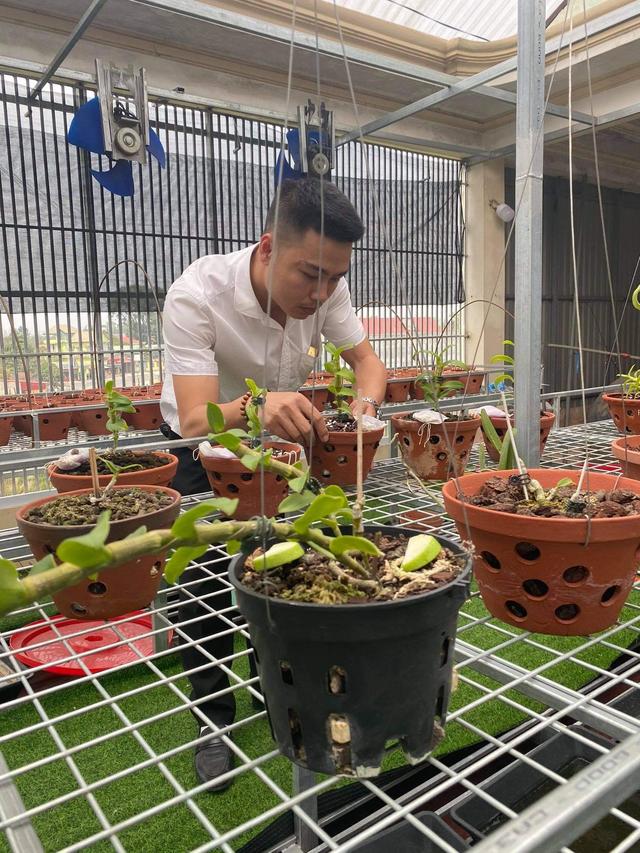 Nghệ nhân chia sẻ cách chăm sóc hoa lan sau khi chơi Tết sao cho đúng cách - 1
