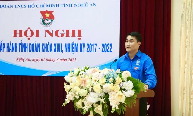 Nghệ An có tân Phó Bí thư Tỉnh đoàn tuổi 35 - 2