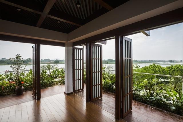 3 căn nhà kiểu ruộng bậc thang ở Việt Nam, ngập sắc xanh ấn tượng - 10