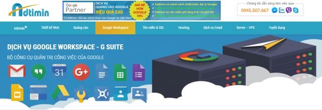 ADTIMIN cung cấp dịch vụ Gmail doanh nghiệp Google workspace - 1