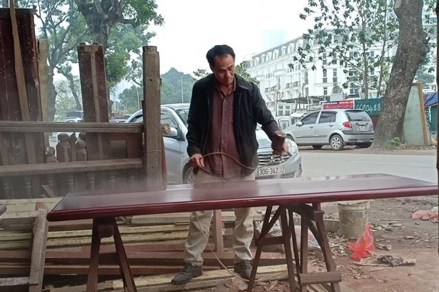 Đầu xuân, thợ mộc giỏi đắt hàng ở Hà Nội - 1