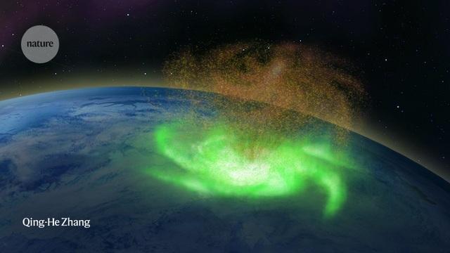 Lần đầu tiên phát hiện bão không gian xuất hiện trên Trái đất - 1