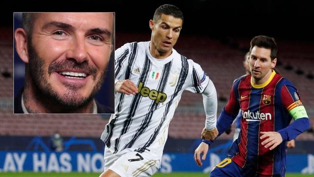 Người hâm mộ cười nhạo ý tưởng chiêu mộ Messi và C.Ronaldo của Beckham - 1