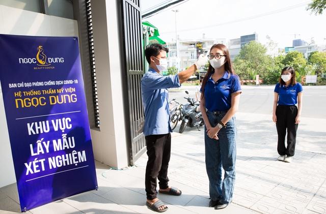 100% nhân viên hệ thống TMV Ngọc Dung âm tính với SARS-CoV-2 trước ngày mở cửa - 2