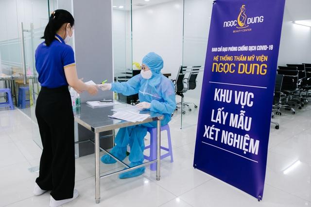 100% nhân viên hệ thống TMV Ngọc Dung âm tính với SARS-CoV-2 trước ngày mở cửa - 3