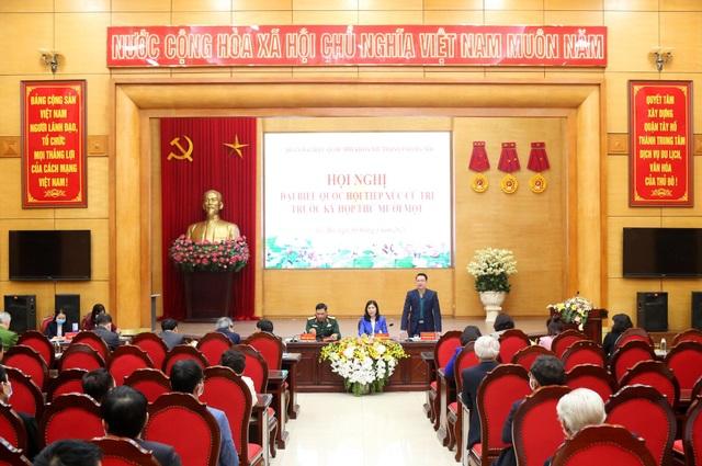 Cử tri vỡ òa cảm xúc khi Tổng Bí thư Nguyễn Phú Trọng tái đắc cử - 1