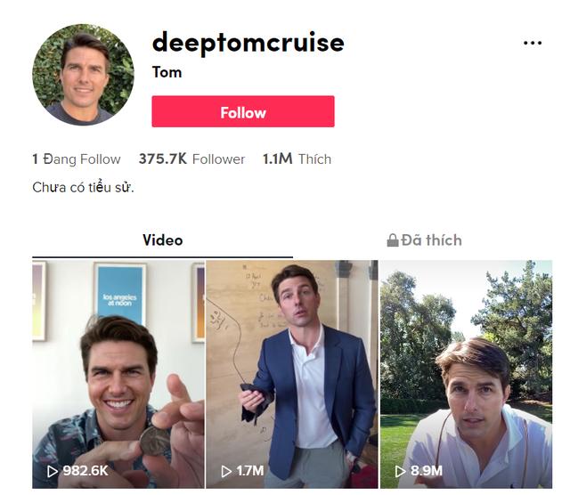 Ngỡ ngàng với video giả khuôn mặt Tom Cruise như thật - 1