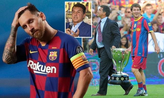 Joan Laporta: Chỉ có tôi mới giữ được Messi ở lại Barcelona - 1