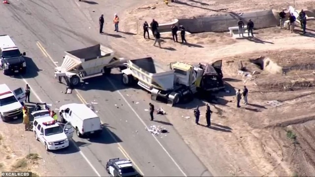 Tai nạn thảm khốc tại Mỹ, ít nhất 13 người chết - 5