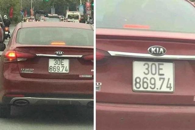 Muôn kiểu làm sai lệch biển số ô tô của tài xế Việt nhằm qua mắt CSGT - 3