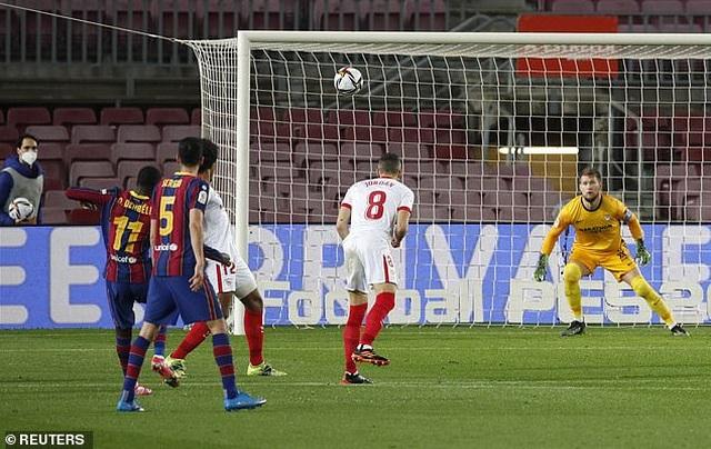 Ngược dòng kinh điển trước Sevilla, Barcelona tiến vào chung kết - 1
