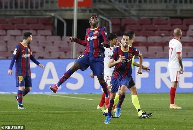 Ngược dòng kinh điển trước Sevilla, Barcelona tiến vào chung kết - 2