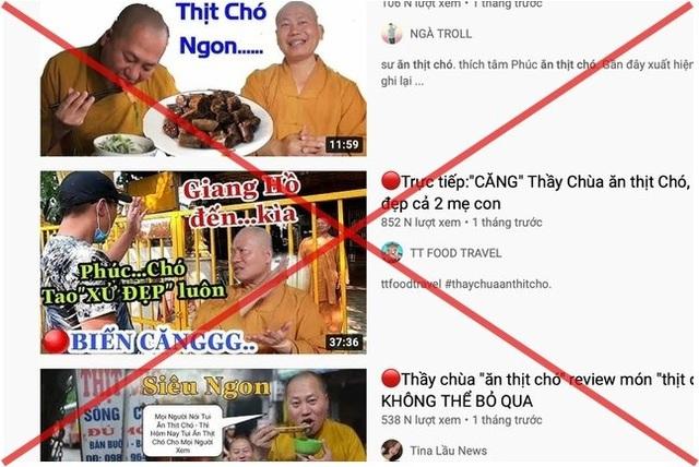 Sự thật bất ngờ về nhân vật thầy chùa ăn thịt chó xuất hiện trên Youtube - 1