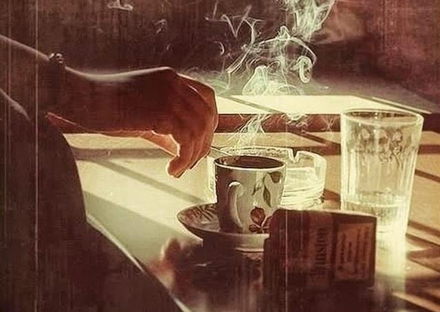 Cà phê đêm và ba - 1