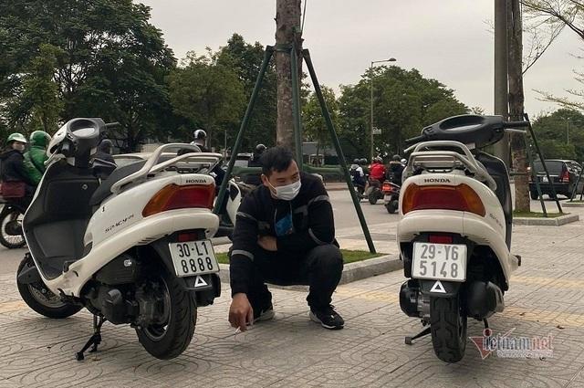 Săn cặp đôi Honda Spacy với giá gần 600 triệu đồng ở Hà Nội - 1