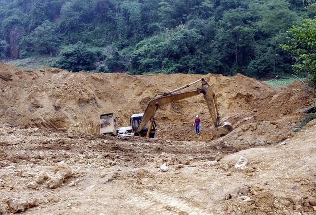 Phát hiện nhiều sai phạm trong khai thác khoáng sản ở tỉnh Hòa Bình - 1