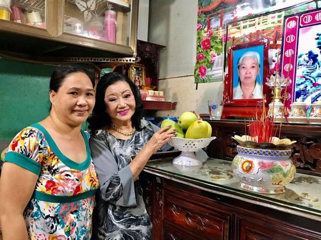 Bữa cơm hội ngộ của NSND Kim Cương và con gái nuôi sau 45 năm thất lạc - 1