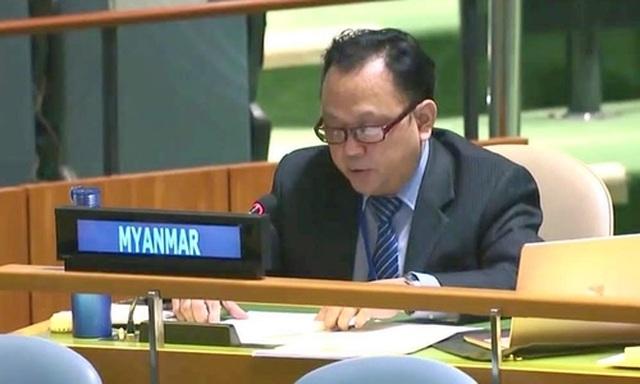 Quyền đại sứ Myanmar tại Liên Hợp Quốc bất ngờ từ chức - 1