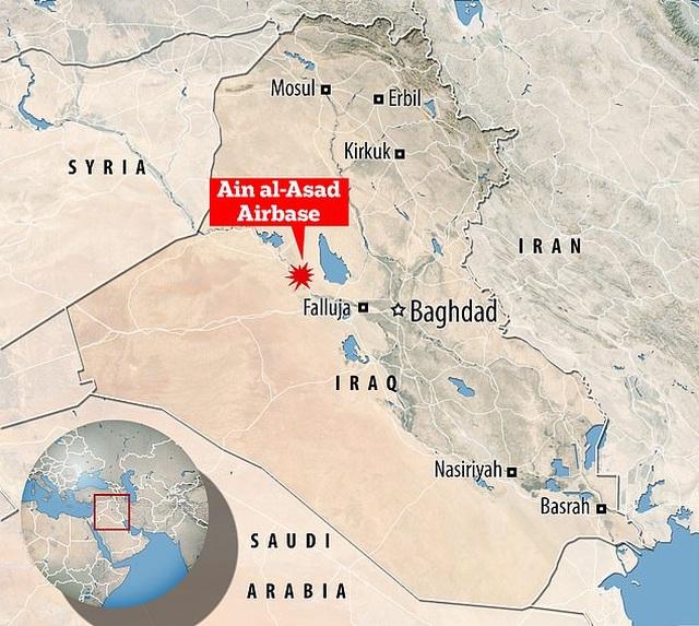 Mỹ xác nhận có người chết trong trận mưa rocket dội xuống căn cứ ở Iraq - 3