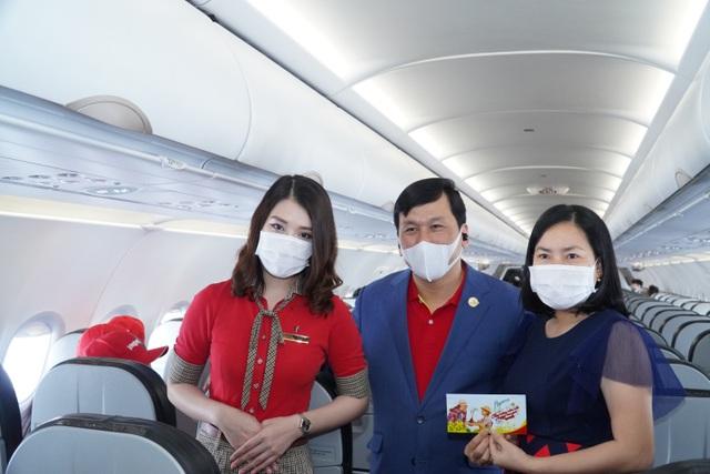 Sân bay Vân Đồn mở cửa trở lại đón chuyến bay Vietjet đầu tiên - 2