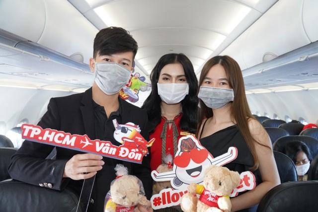 Sân bay Vân Đồn mở cửa trở lại đón chuyến bay Vietjet đầu tiên - 3