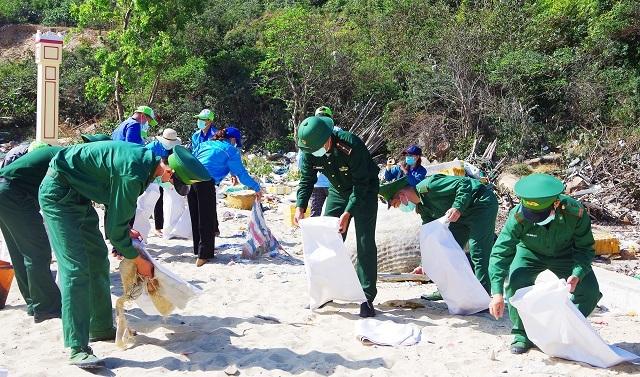 Bình Định: Tuổi trẻ Biên phòng ra quân Tháng ba biên giới - 1