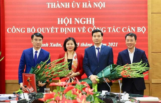 Hà Nội có tân Giám đốc Sở Tài chính và Bí thư quận Thanh Xuân - 1