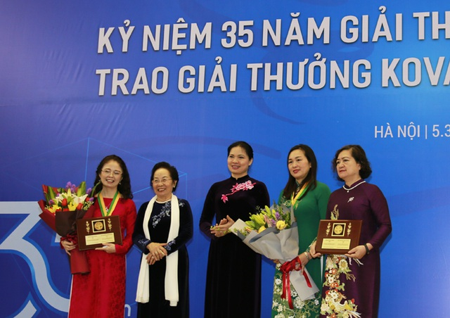 Những nhà khoa học nữ xuất sắc nhận Giải thưởng Kovalevskaia năm 2020 - 1