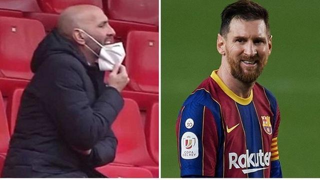 Messi nổi điên, cãi nhau với sếp lớn của Sevilla - 1