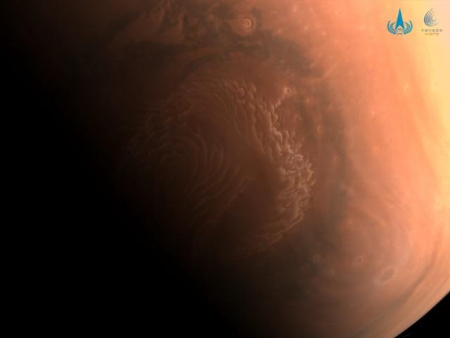 Trung Quốc công bố những hình ảnh mới về Sao Hỏa - 3