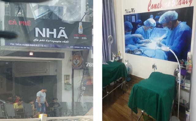 Cơ sở phẫu thuật thẩm mỹ vùng kín trá hình trong… quán cà phê - 1