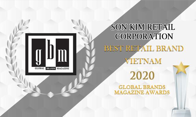 Tạp chí Global Brands vinh danh tập đoàn bán lẻ Sơn Kim Retail - 1