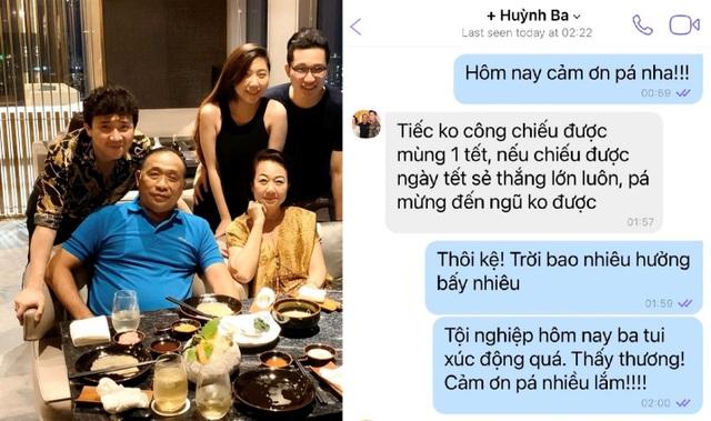Đàm Thu Trang khoe quà 8/3 sớm của ông xã Quốc Cường - 2